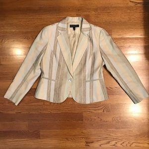 Layfayette 148 silk linen blazer